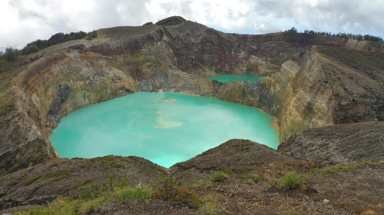 Kelimutu_lac vue de haut
