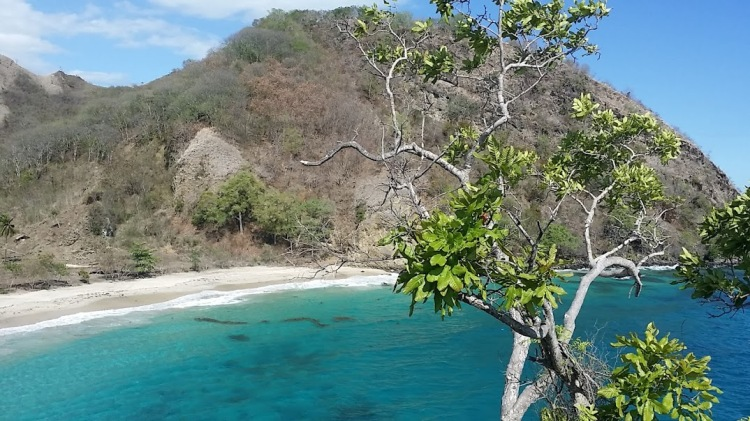 Pantai Koka vue de haut