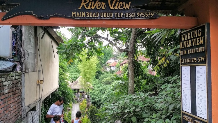 Ubud river view