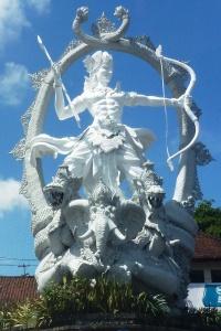 Ubud_Arjuna Statue