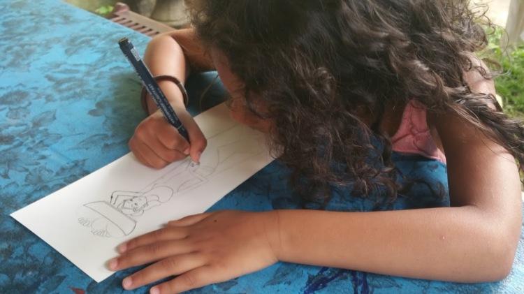 Ubud_keliki eya la dessinatrice