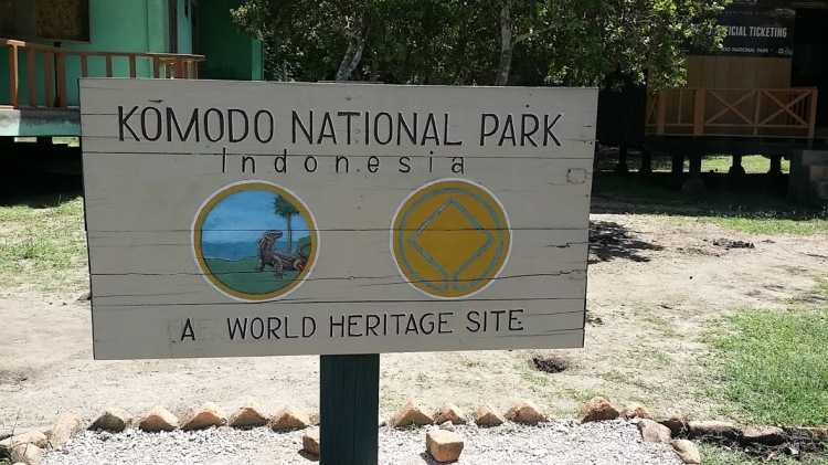 Komodo park_Entrée