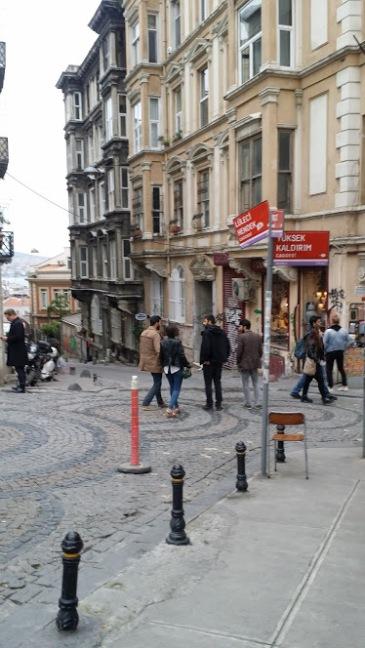 Galata rue