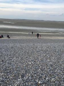 Hourdel plage de galets