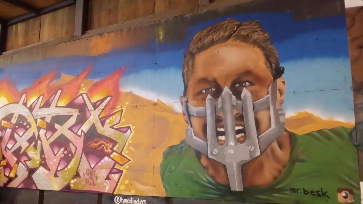 Istikdal street art