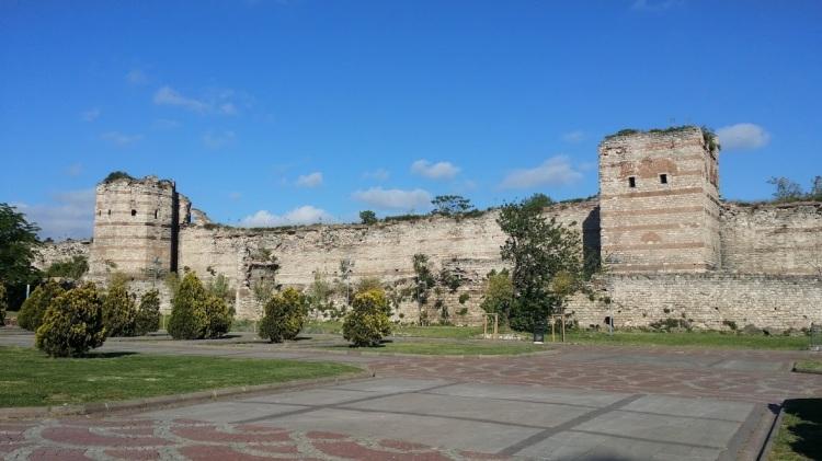 Panorama 1453 Muraille