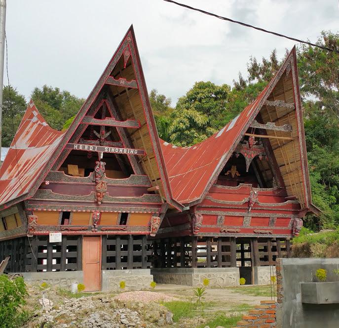 Lac Toba batak maison