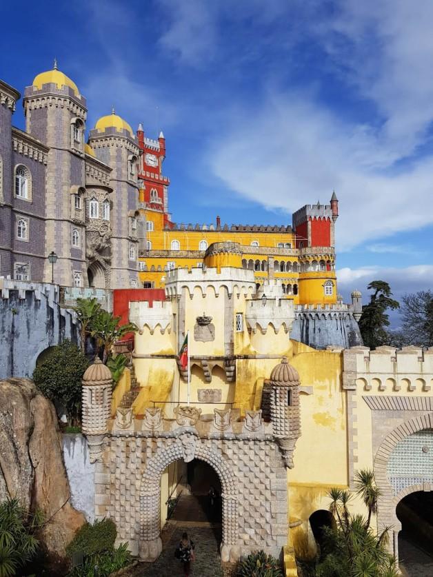 Sintra chateau 2