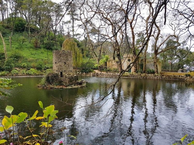 Sintra jardin lac