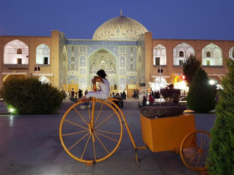 Ispahan place khomeini