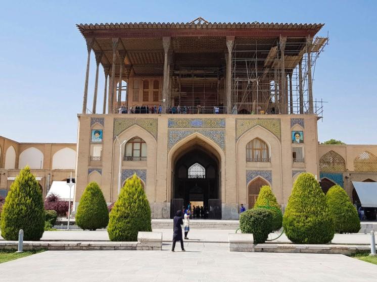 Palais Ali Qapu 3
